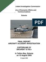 S-76  10 08 2005 final report