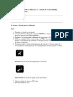Calibração da PTQ