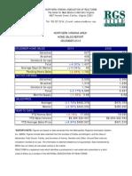 Northern Virginia December 2010 Home Sales Report