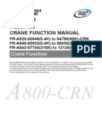 FR-A800 - CRN Crane Function Manual IB(NA)-0600581-A (01.15)