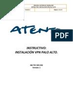 Manual VPN Palo alto
