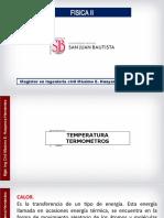 3. clase 03 - I temperatura, termometros, escalas de temperatura celsius, rankine y ferenhett, dilatacion termica, esfuerzos termicos..ppt