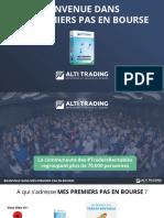 Altlitrading - MES PREMIERS PAS EN BOURSE (2)