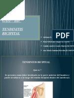 TENDINITIS BICIPITAL TERMINADO