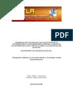 Programa de Expertos en Procesos E-Learning MODULO 5 INVESTIGACION