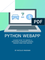 Python WebApp Learn how to serve a Machine Learning Model predicting car prices (Full stack Book 1) by Maignan, Nicolas (z-lib.org)