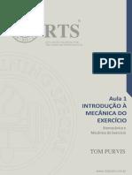 Aula 1 Introdução à Mecânica Do Exercício – Biomecânica e a Mecânica Do Exercício