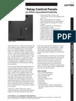 Data Sheet - GreenMAX Relay Control Panels