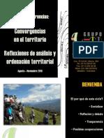 Los estudios del territorio - Diego Franco