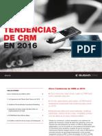 Cinco Tendencias del CRM en 2016