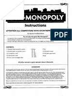 Anti Monopoly Instructions