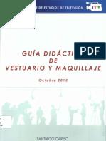 GUÍA DIDACTICA DE VESTUARIO Y MAQUILLAJE