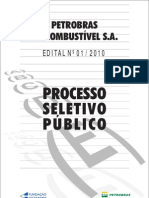 Edital 01-10 biocombustiveis