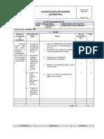 Examen quimestral Preparatoria