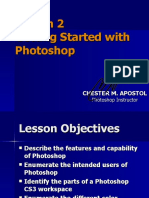 Photoshop Lesson 2 - Getting Started with Photoshop
