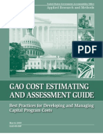 GAO Cost Estimating Assessment Guide