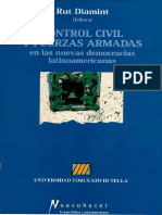 CONTROL CIVIL Y FUERZAS ARMADAS LAS NVAS DEMOCRACIAS LATINOAMERICANAS INTRUDUCCION Rut Diamint.pdf