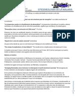 Parasitologia 15.07.18 EPIDEMIOLOGIA DE LA MALARIA