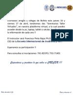Francisco Pinto - Tratamiento contable IUE