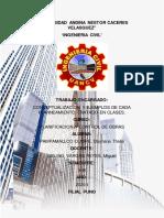 PLANIFICACION Y CONTROL DE OBRAS