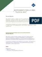 Plan de Abastecimiento (borrador)