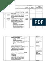 4. Tabel activitate integrată