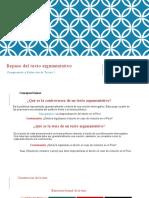 SJL CRT 1 Téxto Argumentativo-términos claves- formularios  2019