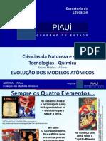 Evolução dos modelos atômicos (Modelos científicos)