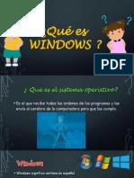 Qué es WINDOWS - 1 grado