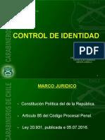 Powerpoints Control de Identidad