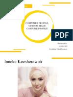 Tugas 3 - Customer, Customade, Costume Profile_Hanifatun Nisa_16513241009