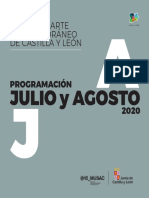 Programación MUSAC julio-agosto 2020