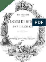Ida Baccini lezioni e racconti per bambini