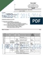 Progression_6ème & 1A 2015-2016