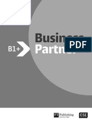 Business Partner B1 Teachers Resource Book Educational Assessment Learning