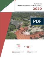UFMG_Plano de Desenvolvimento de Pessoal_2020