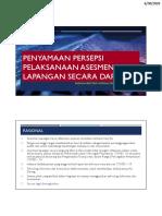 Penyamaan Persepsi AL Daring 300620