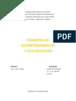ESQUEMA DE EDUCACION FISICA
