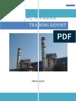 Training Report MC 1-1