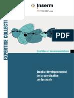 Synthese  Dyspraxie INSERM