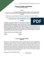 Informe de Bioquimica Glucosa