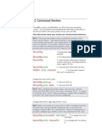 Appendix Linux WLAN NIC Command Review