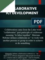 Lesson 5 Collaborative ICT Development