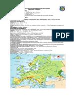 GEOGRAFÍA FISICA DE EUROPA