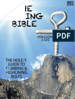 How Not to Slackline - Bolting Bible