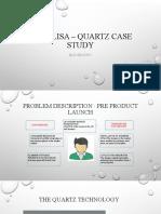 Aqualisa – quartz case study