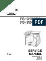 Kyocera 9100 9500 Service Manual