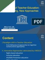 10.FutureofTeacherEducation-18SeptSPedit
