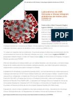 Agência FAPESP _ Laboratórios da USP, Unicamp e Unesp integram plataforma de testes para COVID-19.pdf