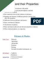 Polymers, Plastics and Composites